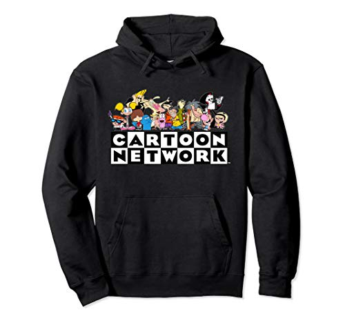 Cartoon Network With Group Shot Pullover Hoodie