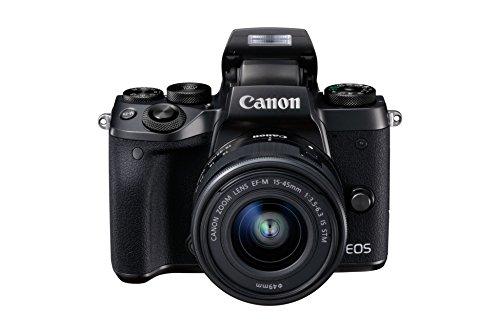 Canon EOS M5 - Kit de Cámara EVIL de 24.2 MP con objetivo EF-M 15-45 S (Pantalla Táctil DE 3.2