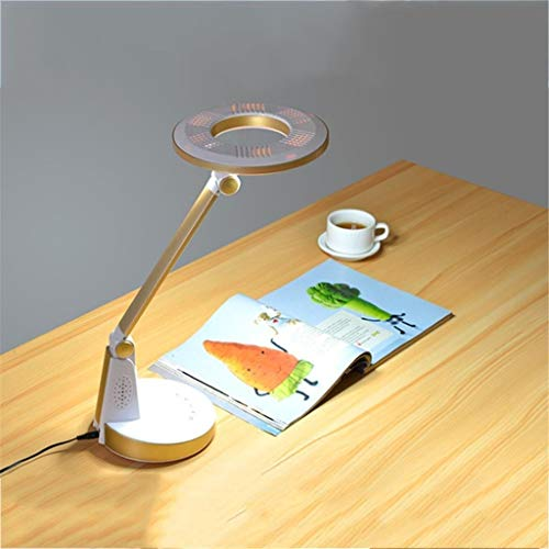 DKEE Escritorio Lámpara LED Eye-El Cuidado De La Lámpara De Mesa, Lámpara De Lectura Táctil Regulable De Control Sensible Simple For Oficina, Hogar, Lectura, Estudio, Trabajo, 002