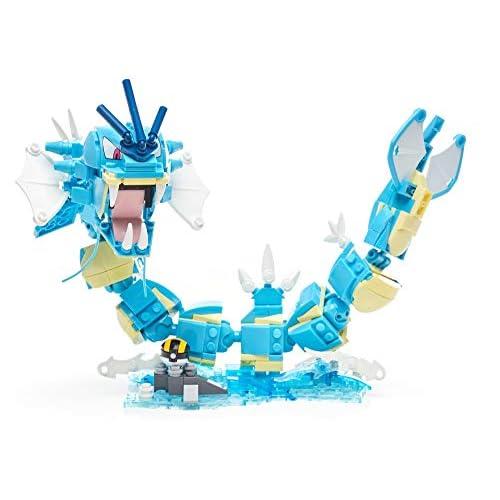 Mega Construx- Pokemon Gyarados Assemblabile Giocattolo per Bambini 6+ Anni, DYF14