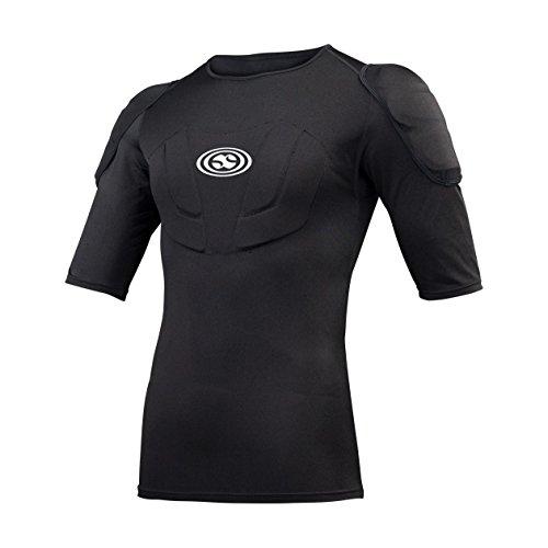 IXS Herren Body Armour Hack Jersey, Black, XS, IX-PRT-4000