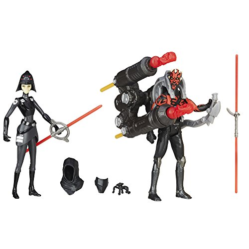 Star Wars Rebels Seventh Schwester Inquisitor VS. Darth Maul Action Figuren 9,5cm