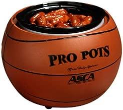 Select Brands BB-10 Pro Pots Basketball Design Slow Cooker
