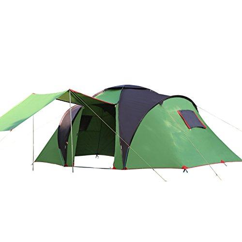 Dorling Kindersley Multimedia - DK Falò All'aperto con Due Camere da Letto, Una Camera da Letto Tenda 5-8 Persone Campeggio Attrezzature, Campeggio Spiaggia, Crema Solare Tenda