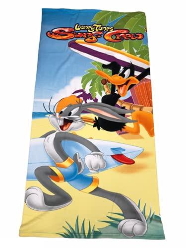 Toalla de playa Looney Tunes de microfibra 70 x 140 cm