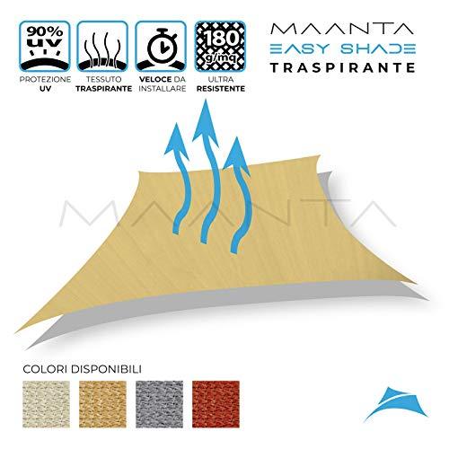 Maanta EasyShade Vorhang OmbreggianteEasyShade Breathable-HDPE 180gr/sqm, beige
