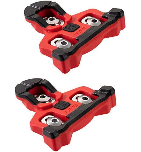 Tacchetti per biciclette Compatibile con Shimano SPD-SL Pedali (6 gradi galleggianti) per uomini e donne Scarpe da ciclismo - Set di tacchetti per bicicletta per la strada e il ciclismo indoor