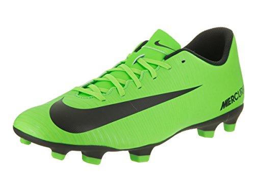 Nike Herren Mercurial Vortex Iii Fg Fußballschuhe, Grün (ELECTRIC Green/Blk-Flsh Lm-Wht), 44.5 EU