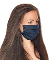 Pack de deux: cette offre contient deux masques différents. Chaque masque est de couleur unie et, en raison de la variété de couleurs, convient parfaitement à différentes tenues Taille ajustable: les masques sont à 2 couches, peuvent être étirés jusq...