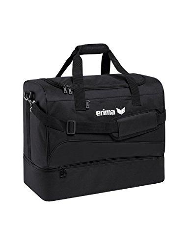 erima Sporttasche mit Bodenfach Sporttasche, 50 cm, 56 Liter, schwarz