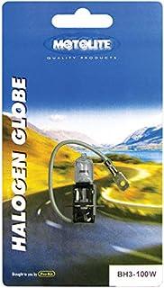 Motolite BH3-100W H3 100W Halogen Globe in Blister Pack