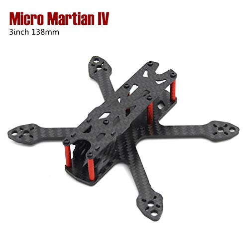 Micro Martian IV 3inch 138mm with 3mm Thickness Arm Frame Kit Quadcopter Drone kit