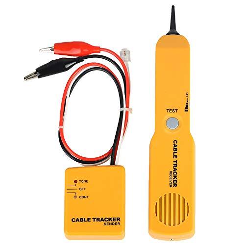 Didad Probador de Cable de Red, Buscador de LíNea TelefóNica PortáTil Probador de Cortocircuito de Red RJ11 Cable Tracke de RJ11