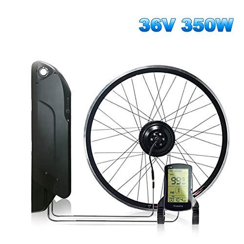 """CARACHOME ebike kit mit akku, 12,8AH 36V 350W Wasserdichtes e Bike nachrüstsatz für MTB und Rennrad,LCD s700,Cassette 26\"""""""