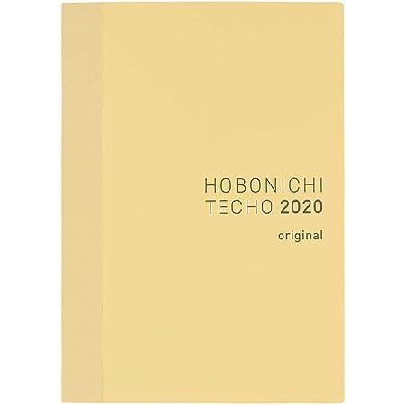 ほぼ日手帳 2020 手帳本体 オリジナル(A6サイズ) 2020年1月はじまり 月曜はじまり 1日1ページ T20AA1MX01010