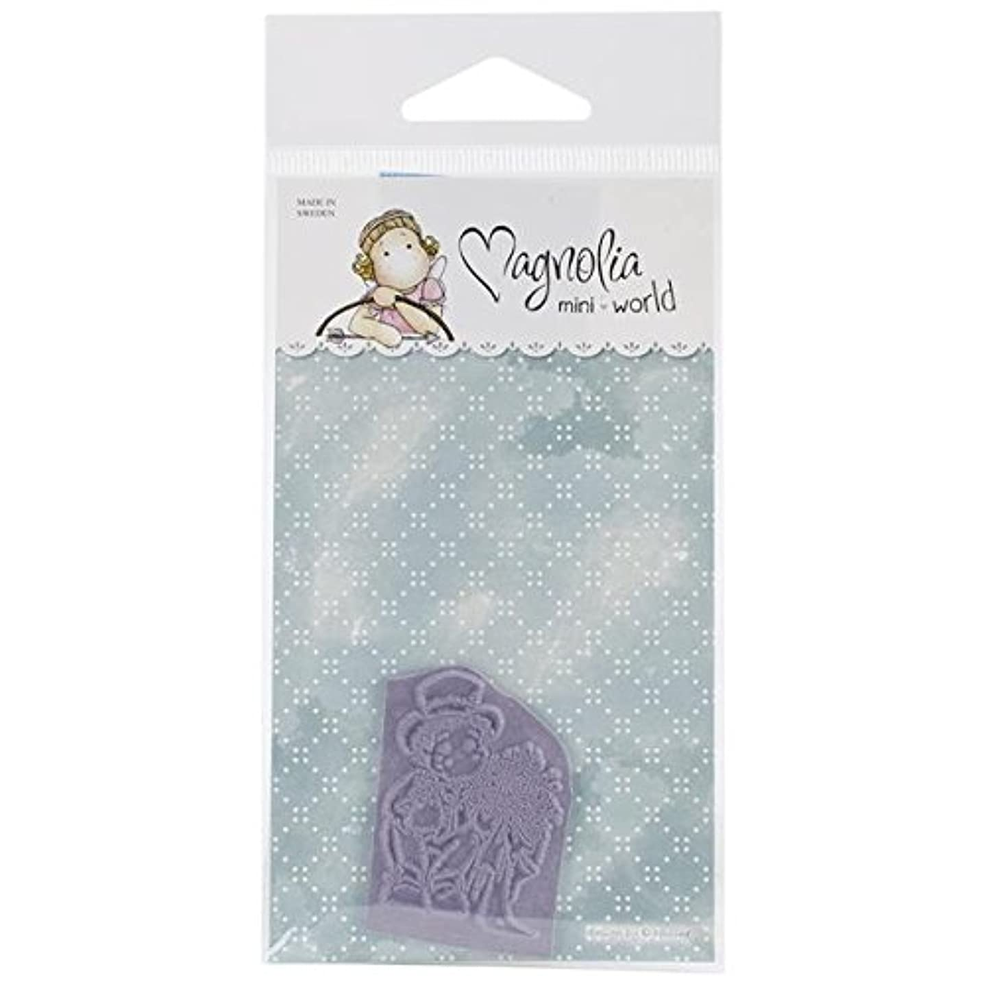 Magnolia Mini Special Moments Cling Stamp, 2.75 by 5.75-Inch, Where is My Bride
