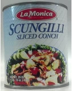 Scungilli Fine Foods Scungilli, Sliced Conch, 29 Ounce Can (4 PACK) by Lamonica Fine Foods Scungilli, Sliced Conch