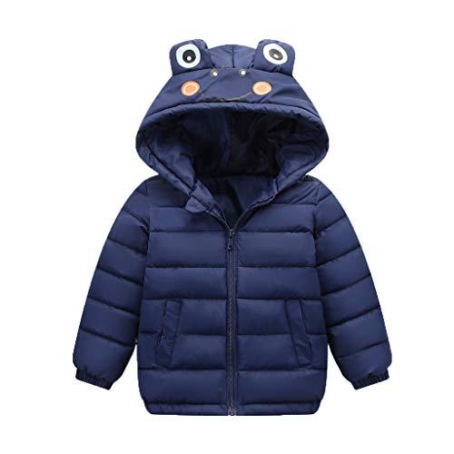 NISOWE Veste d'hiver pour BéBé Enfant Fille GarçOn Chaud Au Chaud à Capuche Cartoon Animal éPais Manteau Ensemble BéBé Fille