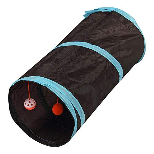 Color Yun Túnel para Perros de Juguete, Canal para Gatos, Tienda de Tierra rodante, túnel para Mascotas, Perros, Canal de Entrenamiento para Perros, Juguete para Mascotas