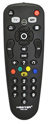 Master - Control Remoto para Sistema Satelital Sky, Decodificadores y Televisores Varios.
