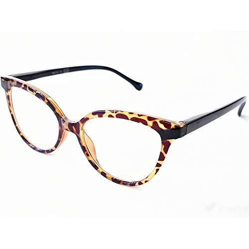 Marc Andrews design leesbril met veerscharnier Cat Eye Retro Vlindervorm Nerd stijlvolle moderne leesbrillen