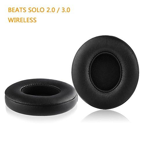 Vimmor Ohrpolster für Beats by Dr. Dre Solo2/Solo3 kabellose On-Ear-Kopfhörer