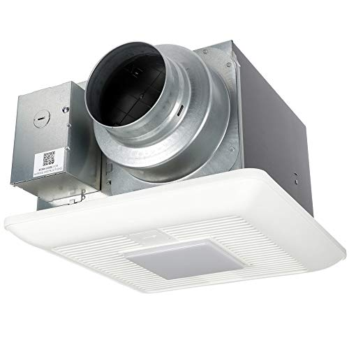 Panasonic FV-0511VKL2 WhisperGreen Select Ventilation Fan with Light, 50-80-110 CFM