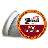 San Francisco Bay Coffee, Fog Chaser, 80 OneCup Single Serve Cups