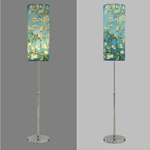 XIN Home staande lamp, staande leeslamp, lift vloerlamp, slaapkamer woonkamer creatieve retro studie leeslicht, eenvoudige moderne nachtbescherming verticale tafellamp