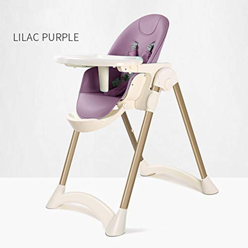 Find Discount DXFK.AM High Chair for Babies Toddlers Foldable Highchair Converts to Dining Booster S...