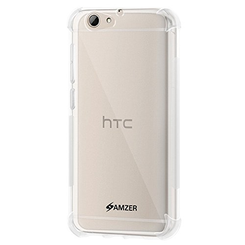 AMZER Slim TPU X Protection Case with Shock Dissipating Technology Skin for HTC One A9s - Crystal clear