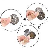 Enjoyer Flipper Coin Half Dollar Coin Magic Tricks Professional Magician Props Close up Magic Stage Illusions