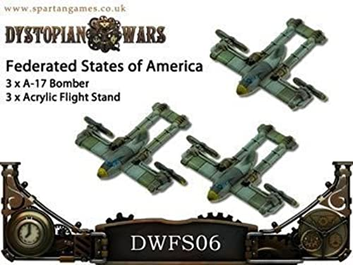 despacho de tienda FSA A-17 A-17 A-17 Class Bombers by Spartan Games  seguro de calidad