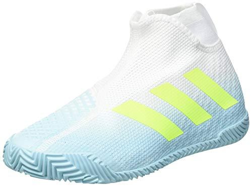 adidas STYCON M, Zapatillas de Tenis Hombre, Hazy Sky/Solar Yellow/FTWR WHI, 42 EU ✅