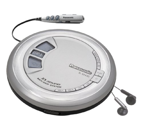 Panasonic SL-SX430 Portable CD/MP3 Player with D-Sound (Discontinued by Manufacturer)