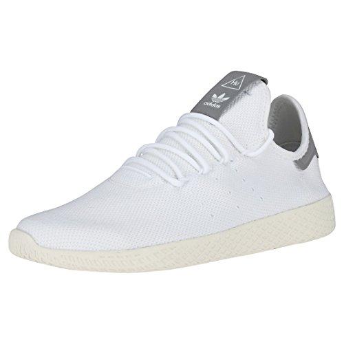 Adidas PW Tennis Hu, Zapatillas de Deporte Hombre, Blanco (Ftwbla/Ftwbla/Blatiz 000), 42 2/3 EU