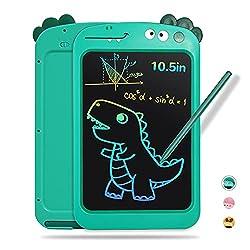 3. YiGuoTech LCD 10.5″ Dinosaur Writing Tablet