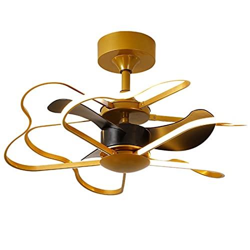 William 337 Lámpara de Techo Lámpara de Ventilador, Lámpara de Ventilador de Techo, Habitación de Dormitorio Balcón Cocina Comedor Araña Homicita con Ventilador y Ventilador