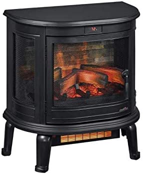Duraflame 3D Infrared Stove Black Electric Heater product image