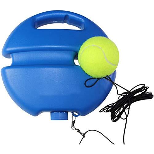 Swakom Pelota de Rebote de Entrenador de Tenis, Juego de Pelota de Entrenador de Tenis, Herramienta de Entrenamiento de Tenis para Auto Estudio de Tenis, Baseball de Rebote de Auto Estudio de Pelota