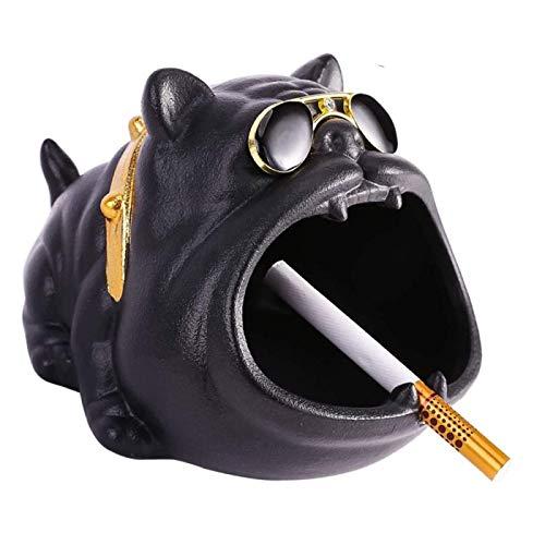 Cenicero Weed Divertido Gran pequeño cenicero para Patio Hermoso cenicero de Mesa Ahumado Ptery para Cigarrillos cooldog