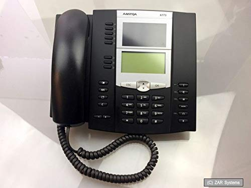 Aastra DeTeWe 6773 System Telefon, LCD Display, Schwarz, Schnurgebunden, NEUW.