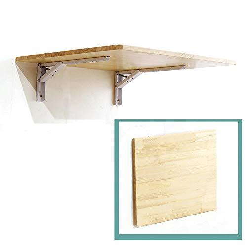 Wall-mounted Table DFVV Mesa Plegable Pared, Mesa Comedor, Mesas Bar Madera Pino...