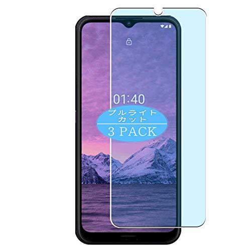 VacFun 3 Piezas Filtro Luz Azul Protector de Pantalla, compatible con Nokia 1.4, Screen Protector Película Protectora(Not Cristal Templado)