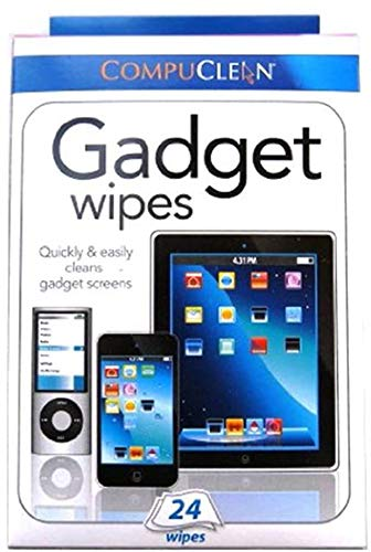 Citystores 24 Gadget Wipes Touchscreen Wipes Screen Cleaner Keyboard Cleaner Laptop Wipes Smartphone Wipes