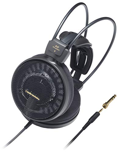 Audio Technica ATH-AD900X Open-Back Audiophile Headphones,Black