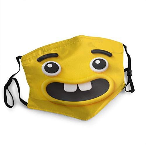 pumpkin pie Toothl Smile, Emoji Personalisierter Mundschutz Wiederverwendbarer Mundschutz (Give Five Mouth Guard)