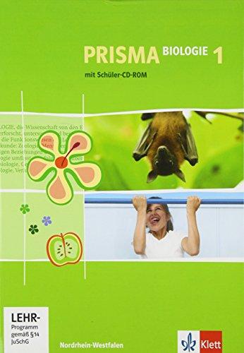 PRISMA Biologie 1. Ausgabe Nordrhein-Westfalen: Schülerbuch mit Schüler-CD-ROM Klasse 5/6: Realschule, Gesamtschule (PRISMA Biologie. Ausgabe ab 2005)