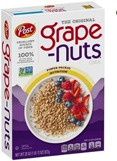 Post Grape-Nuts Non GMO Breakfast Cereal, 29 oz - Pack of 4