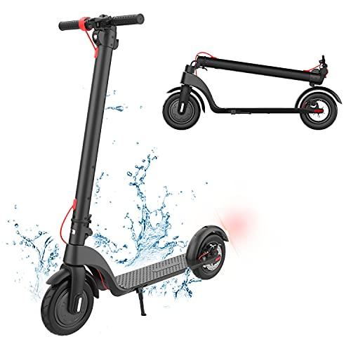 Patinete eléctrico para Adultos, Ciudad Eléctrico Scooter con Modo de 3 Velocidades,...